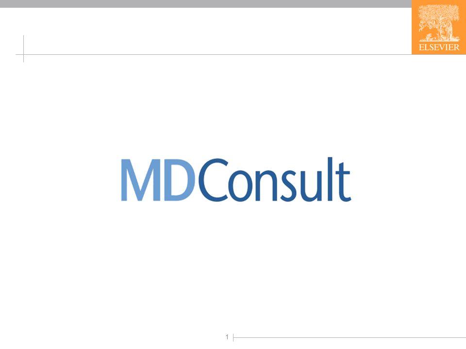 2 Sürekli güncellenen MD Consult, doktorların hastalarını muayene ederken ve hastalarına teşhis koyarken yararlandıkları bir kaynaktır.