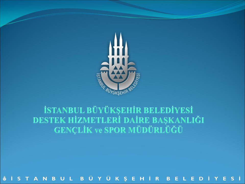 GENÇLİK VE SPOR MÜDÜRLÜĞÜ'NÜN KURULUŞU İstanbul Büyükşehir Belediye Meclisi'nin 14.06.2006 tarih ve 1038 sayılı kararı ile Gençlik ve Spor Müdürlüğü kuruldu.