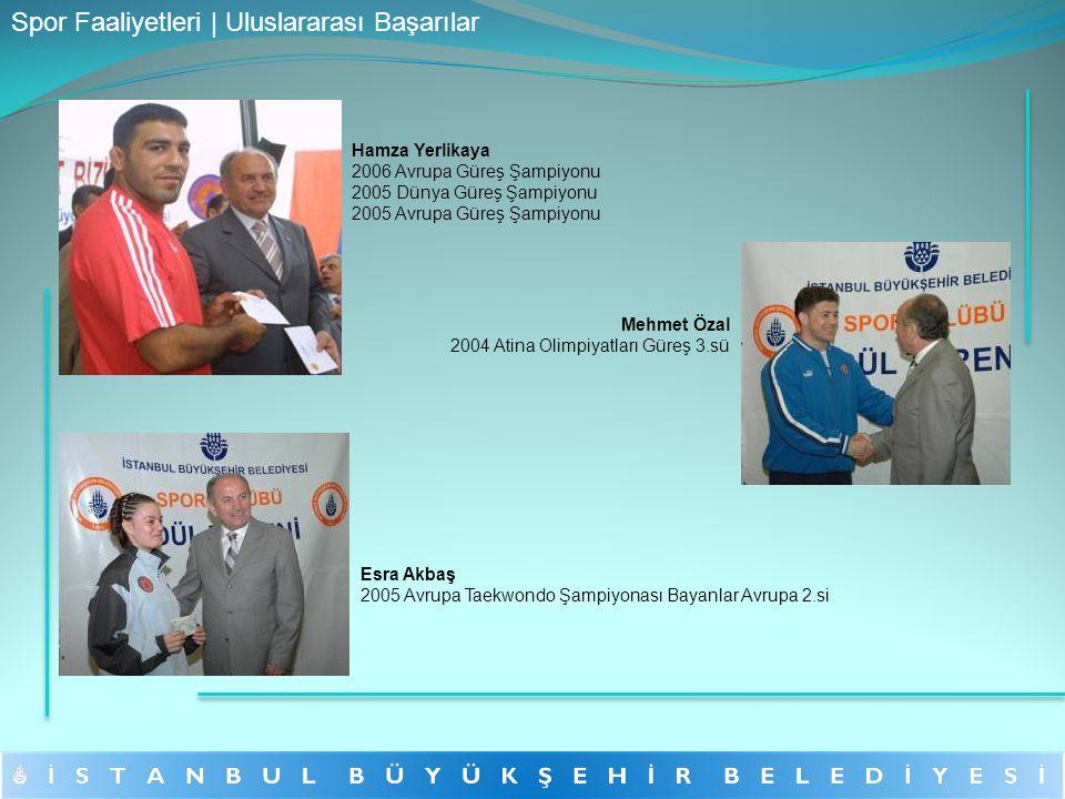 Hamza Yerlikaya 2006 Avrupa Güreş Şampiyonu 2005 Dünya Güreş Şampiyonu 2005 Avrupa Güreş Şampiyonu Mehmet Özal 2004 Atina Olimpiyatları Güreş 3.sü Esr