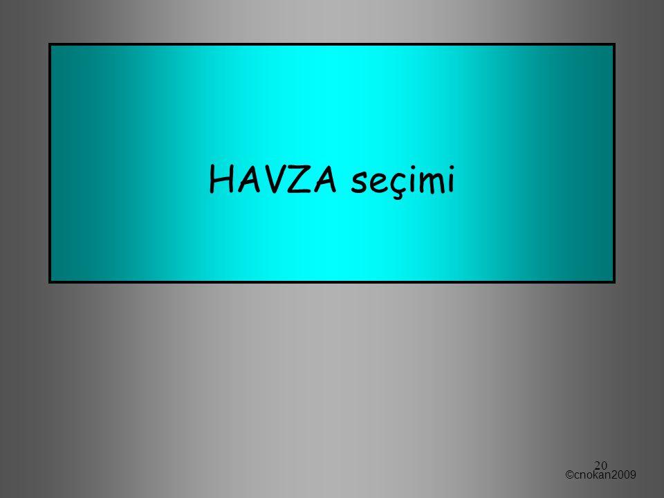 HAVZA seçimi ©cnokan2009 20