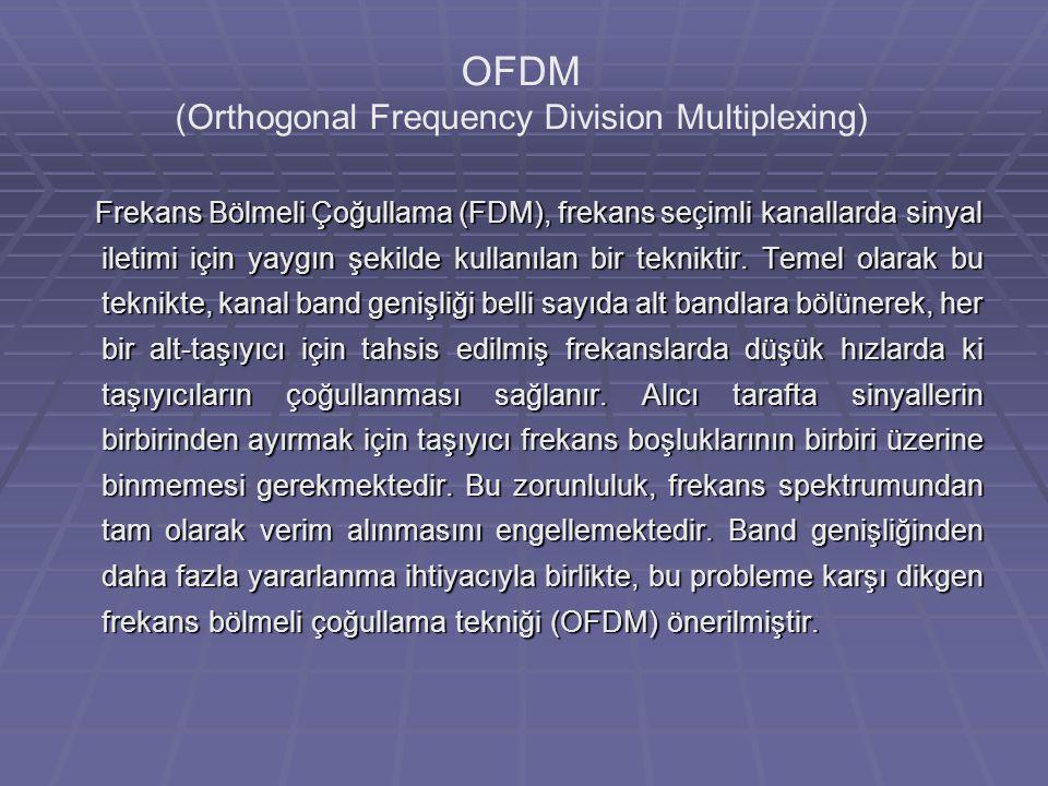 Frekans Bölmeli Çoğullama (FDM), frekans seçimli kanallarda sinyal iletimi için yaygın şekilde kullanılan bir tekniktir.