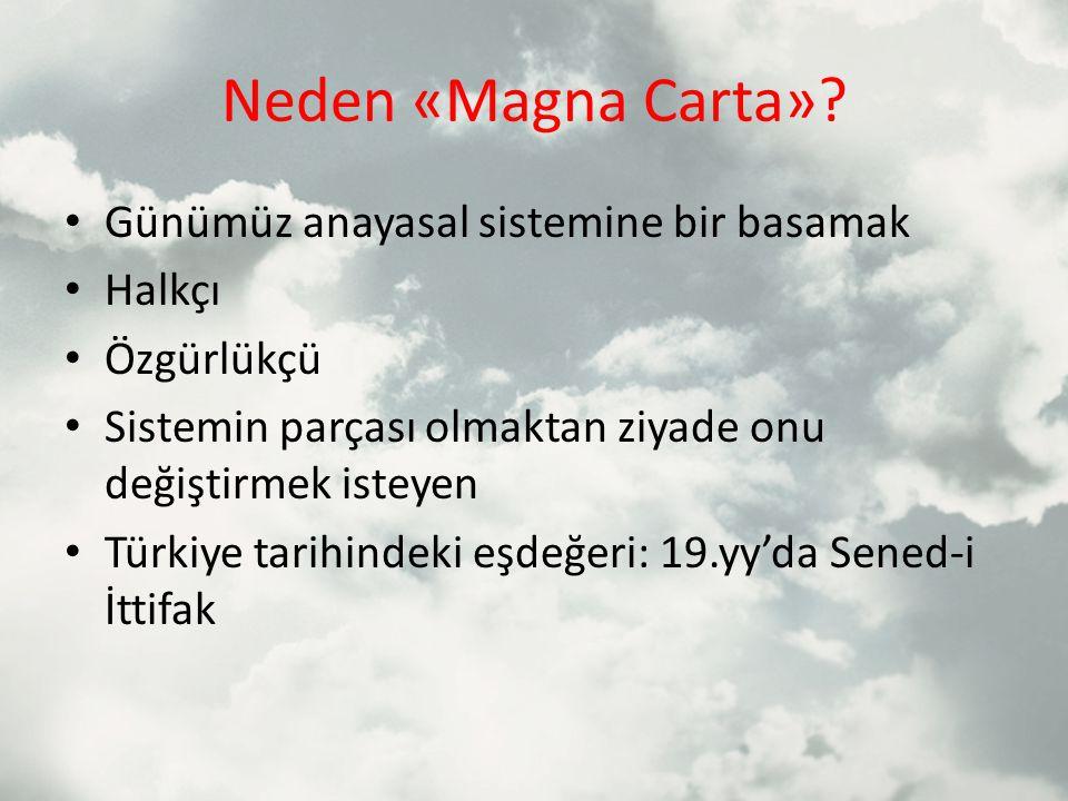 Neden «Magna Carta».