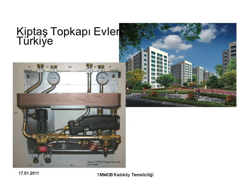Kiptaş Topkapı Evleri, Türkiye T M M OB Kadıköy Temsilciliği 17.01.2011