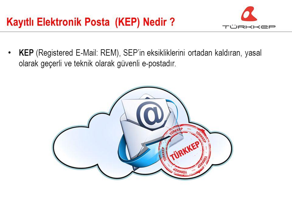 Kayıtlı Elektronik Posta (KEP) Nedir .
