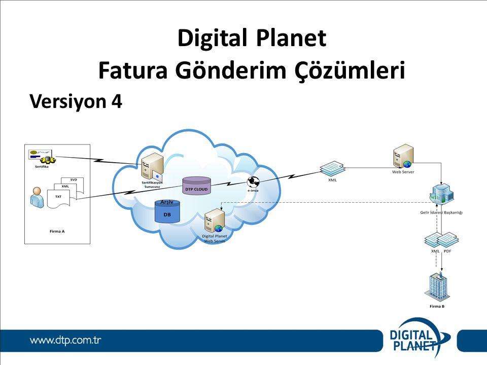 Digital Planet Fatura Gönderim Çözümleri Versiyon 4