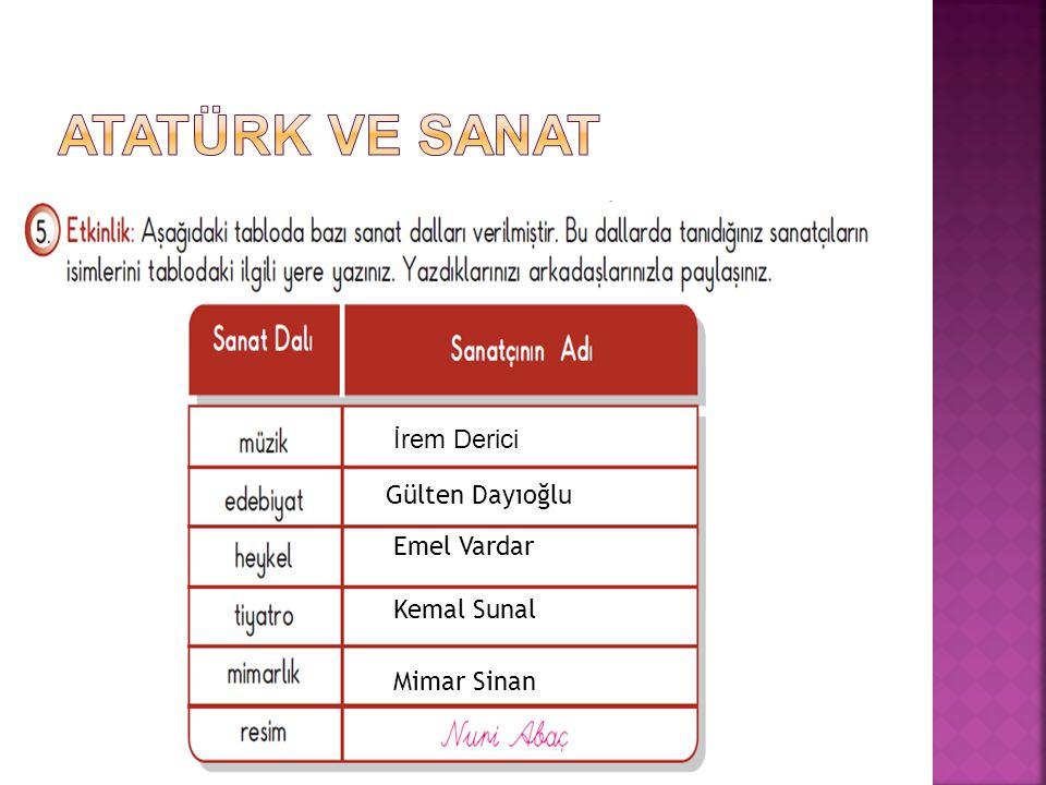 İrem Derici Gülten Dayıoğlu Kemal Sunal Emel Vardar Mimar Sinan