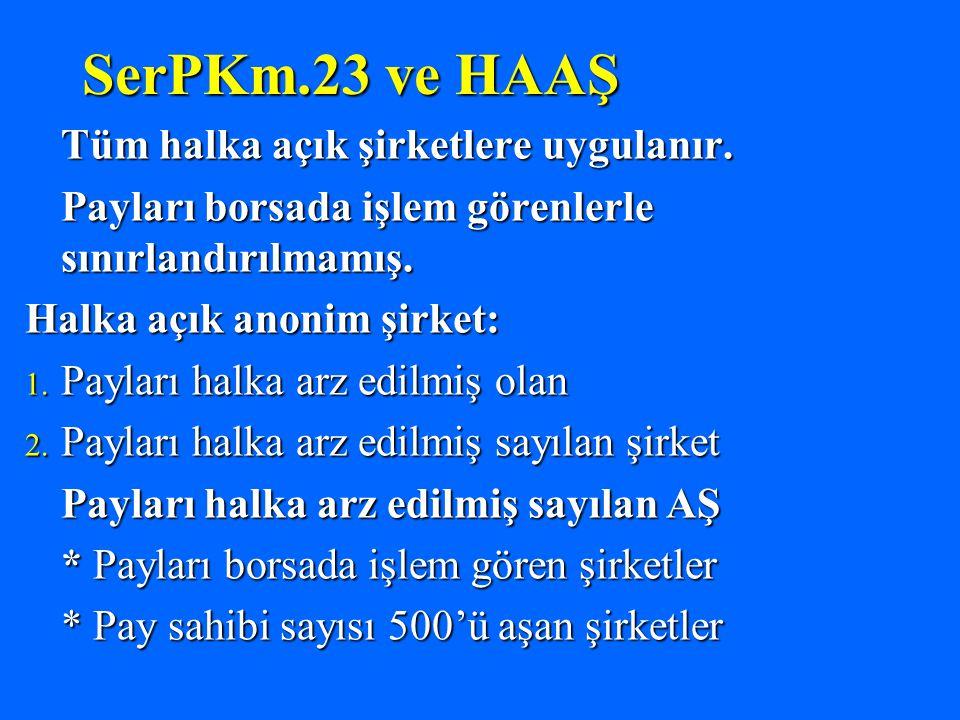TTKm.436 f.1: HAAŞ arasındaki, kişisel nitelikte bir işe veya işleme ya da herhangi bir yargı kurumu ya da hakemdeki davaya ilişkin müzakerelerde oy kullanamaz.