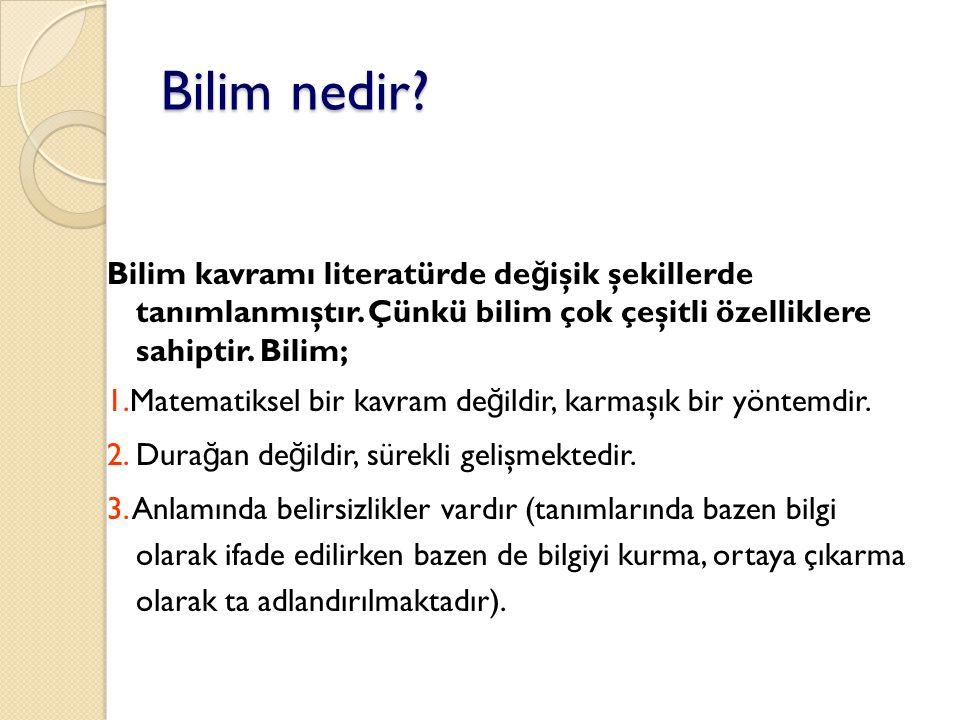 Prof.Dr. Mustafa ERGÜN19 Thomas Kuhn paradigma kavramını kullanmıştır.