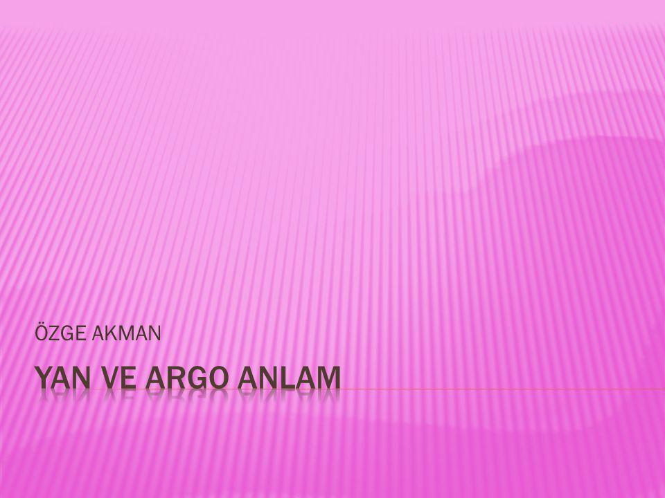 ÖZGE AKMAN