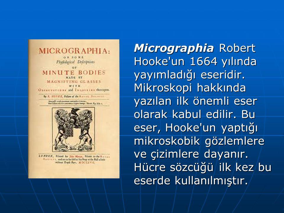 Micrographia Robert Hooke un 1664 yılında yayımladığı eseridir.