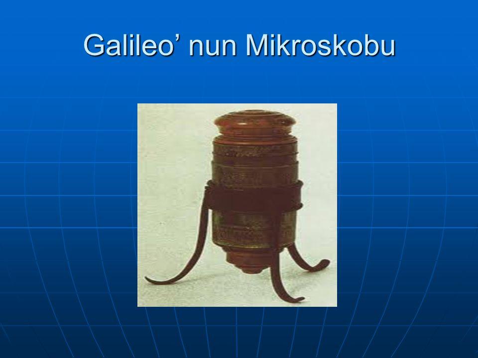 Galileo' nun Mikroskobu