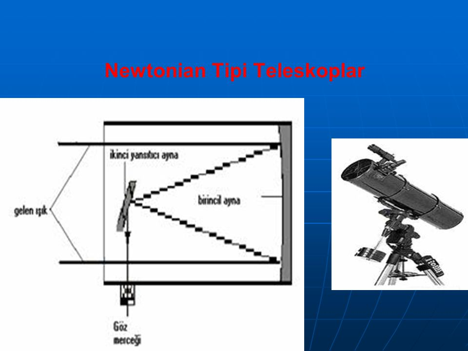 Newtonian Tipi Teleskoplar