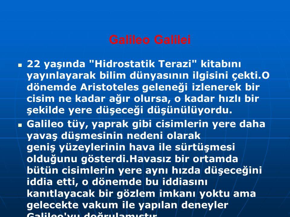 Galileo Galilei 22 yaşında