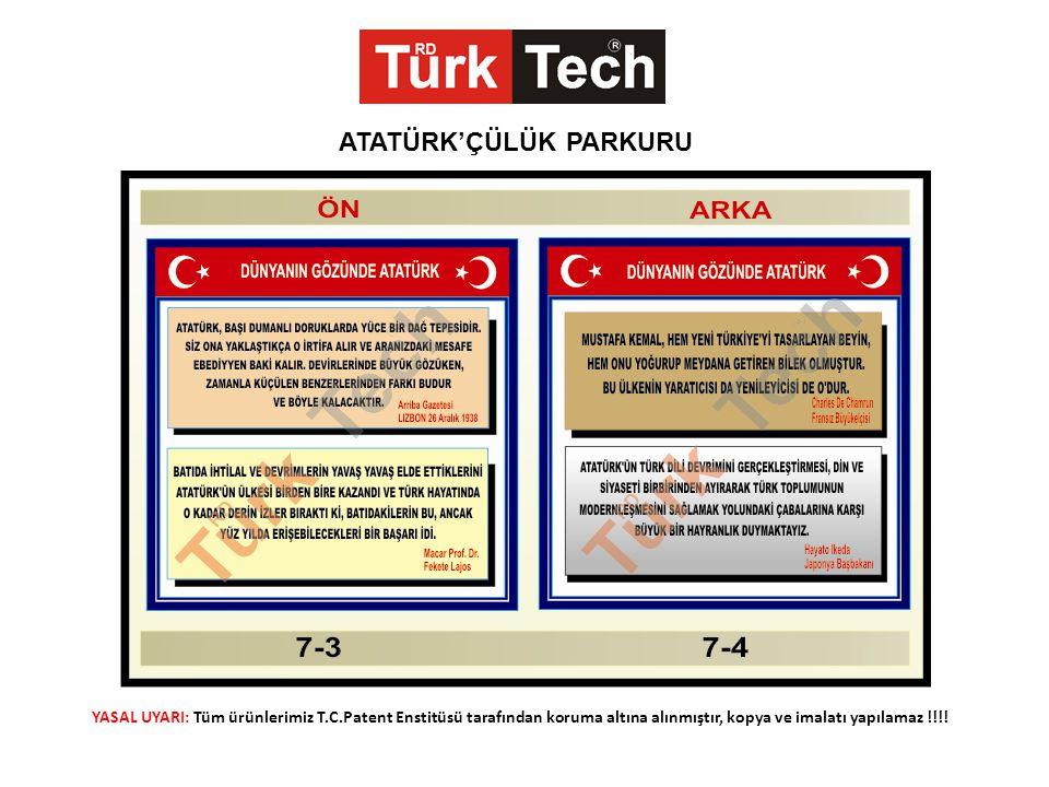 YASAL UYARI: Tüm ürünlerimiz T.C.Patent Enstitüsü tarafından koruma altına alınmıştır, kopya ve imalatı yapılamaz !!!.