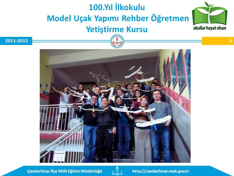 http://cavdarhisar.meb.gov.trÇavdarhisar İlçe Milli Eğitim Müdürlüğü 2011-2012 Gökağaç İlkokulu Makine Nakışı Kursu 19