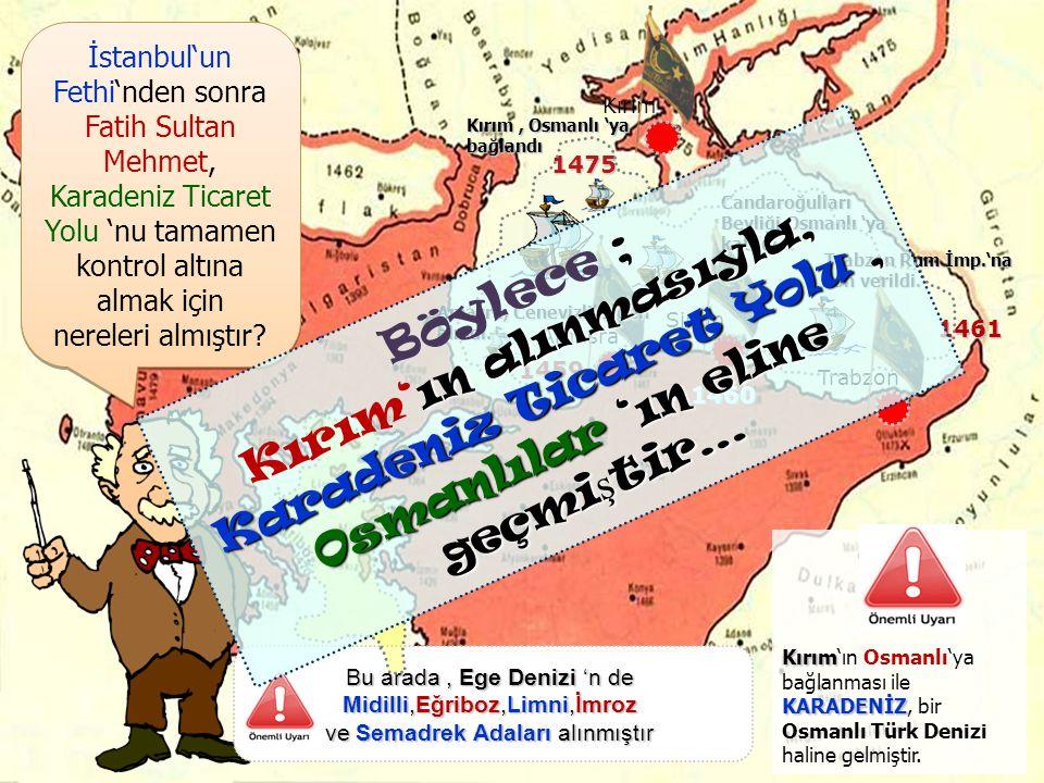 ; Şimdi de ; İstanbul 'un Fethi'nin DÜNYA TARİHİ açısından SONUÇLARI'na bakalım. ; Şimdi de ; İstanbul 'un Fethi'nin DÜNYA TARİHİ açısından SONUÇLARI'