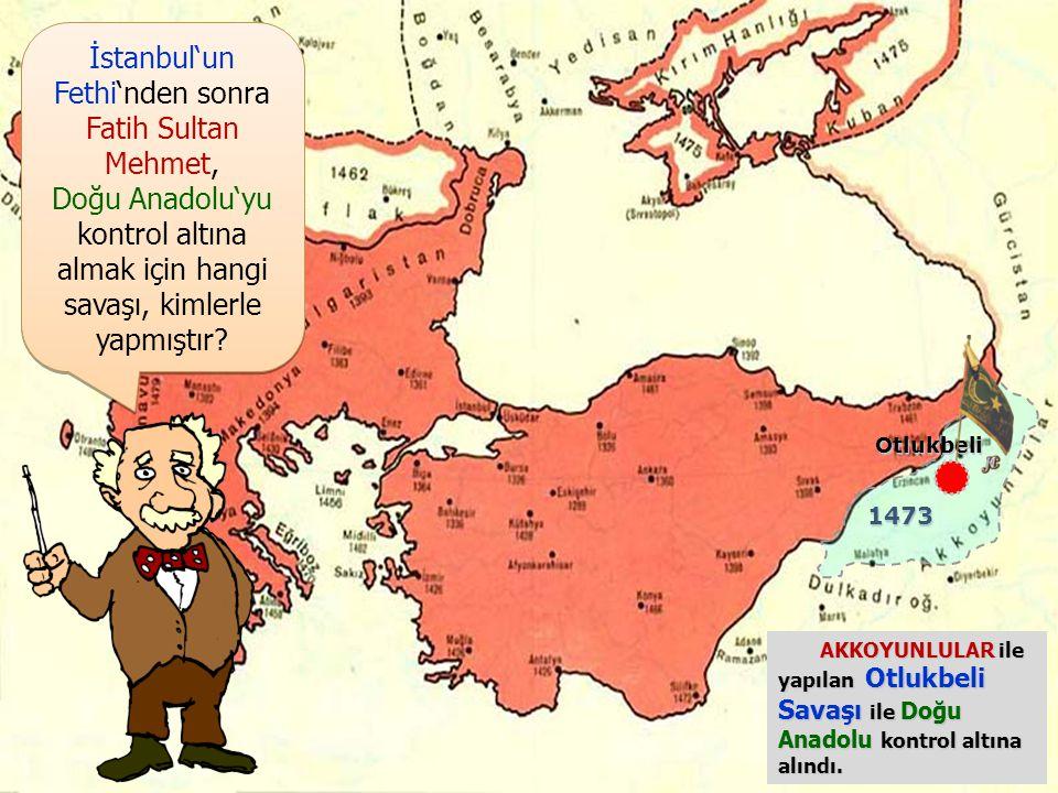 İstanbul'un Fethi'nden sonra Fatih Sultan Mehmet, Karadeniz Ticaret Yolu 'nu tamamen kontrol altına almak için nereleri almıştır? İstanbul'un Fethi'nd