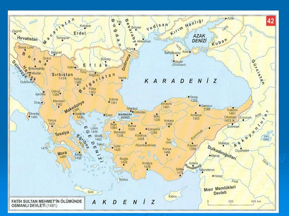 Yeni Çağ Avrupa'sının Genel Özellikleri 1.Feodalite (derebeylik) yıkıldı.