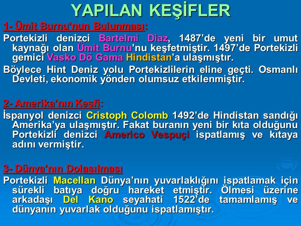 Reformun Sonuçları 1.Avrupa da Mezhep birliği bozuldu 2.