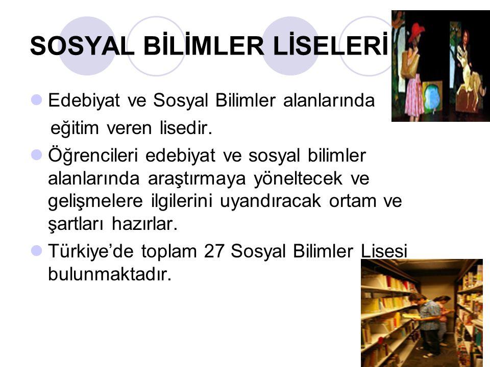 Anadolu Güzel Sanatlar Lisesi Anadolu güzel sanatlar liseleri, ilköğretim üzerine 4 yıl öğrenim veren yatılı, gündüzlü ve karma okullardır.
