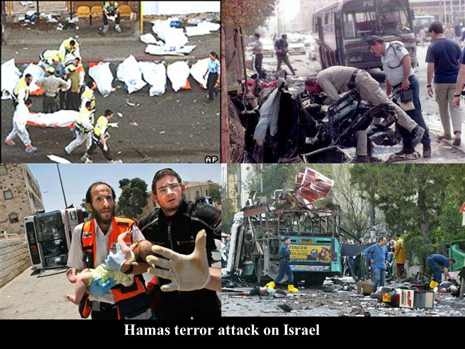 Hamas terror attack on Israel
