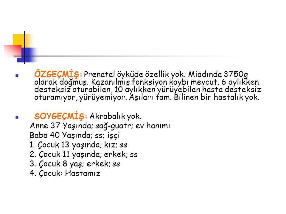 Opsoklonus-Myoklonus Sendrom: Tümörün SSS'ni direkt tutmasına veya ketakolamin üretimine bağlı değildir.