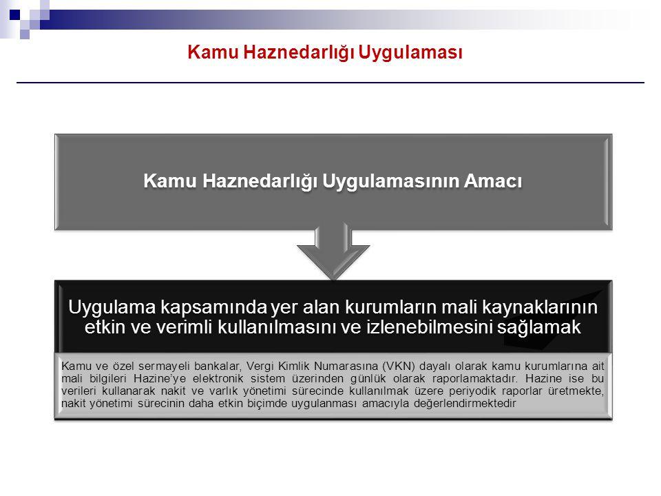 Kamu Haznedarlığı Uygulamasının Yasal Dayanakları:  Kamu Haznedarlığı Uygulaması ilk olarak 1996 yılında başlamıştır.