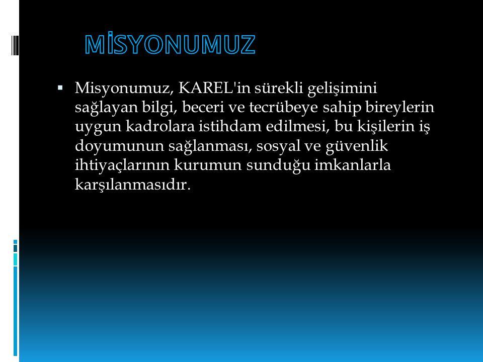 Üniversiteler için E ğ itim Projeleri  Türkiye nin büyük üniversitelerinin Haberleşme, Endüstriyel Elektronik, Teknik Eğitim Fakülte ve bölümlerinde bu güne kadar Karel eğitimlerini tamamlayan bu öğrencilerin önemli bir kısmına Karel de ya da Karel bayilerinde iş imkanı sunduk.