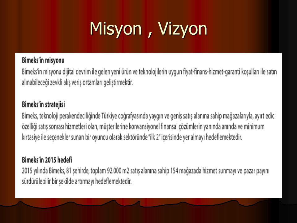 Misyon, Vizyon