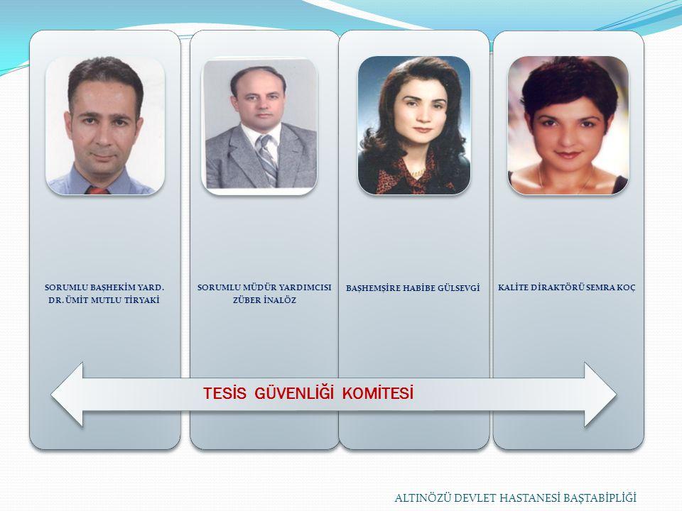 SORUMLU BAŞHEKİM YARD. DR.