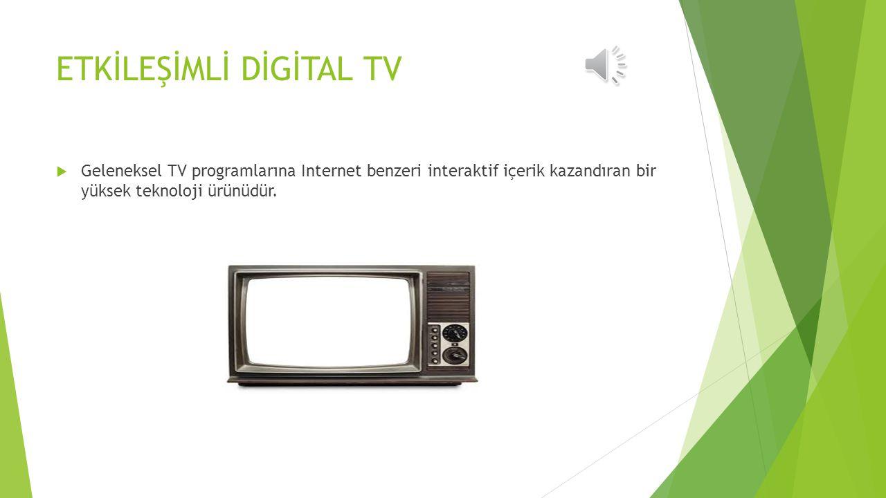 GÖRSEL-İŞİTSEL TEKNOLOJİLER  Televizyon Yararları Sınırlılıkları  Video, Videotelekonferans ve Masaüstü Video