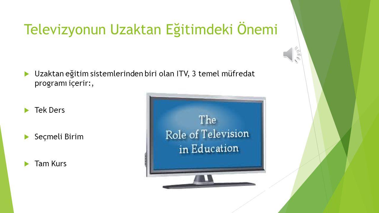 ETKİLEŞİMLİ DİGİTAL TV  Geleneksel TV programlarına Internet benzeri interaktif içerik kazandıran bir yüksek teknoloji ürünüdür.