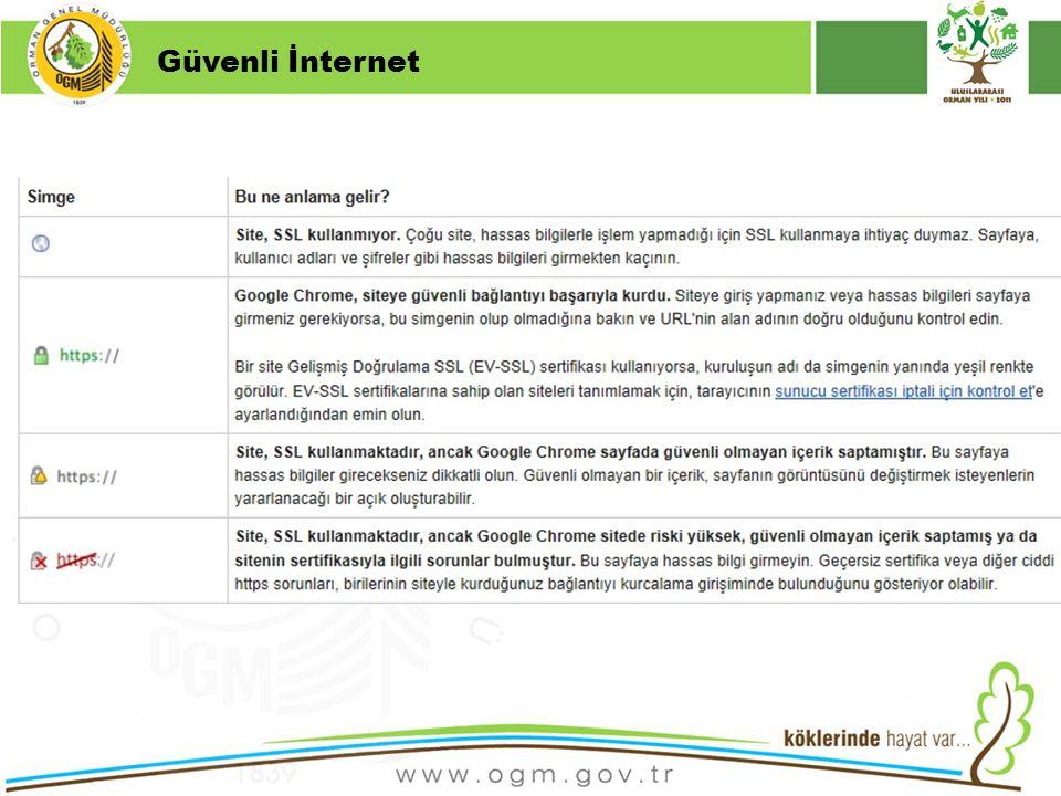 16/12/2010 Kurumsal Kimlik 5 Güvenli İnternet