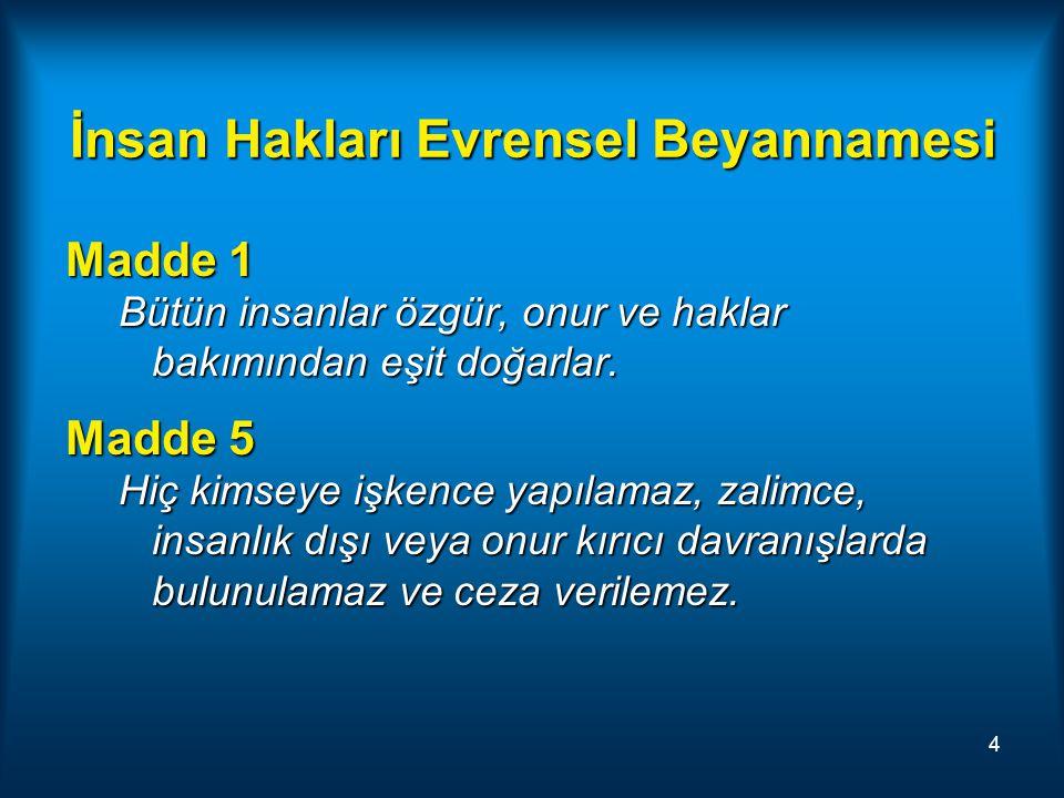 Hakkın Kullanımı Türk Ceza Yasası Madde 26: Hakkını kullanan kimseye ceza verilemez Bu hak kavramı her türlü hakkı kapsar ve hukukun herhangi bir dalından da kaynaklanmış olabilir.