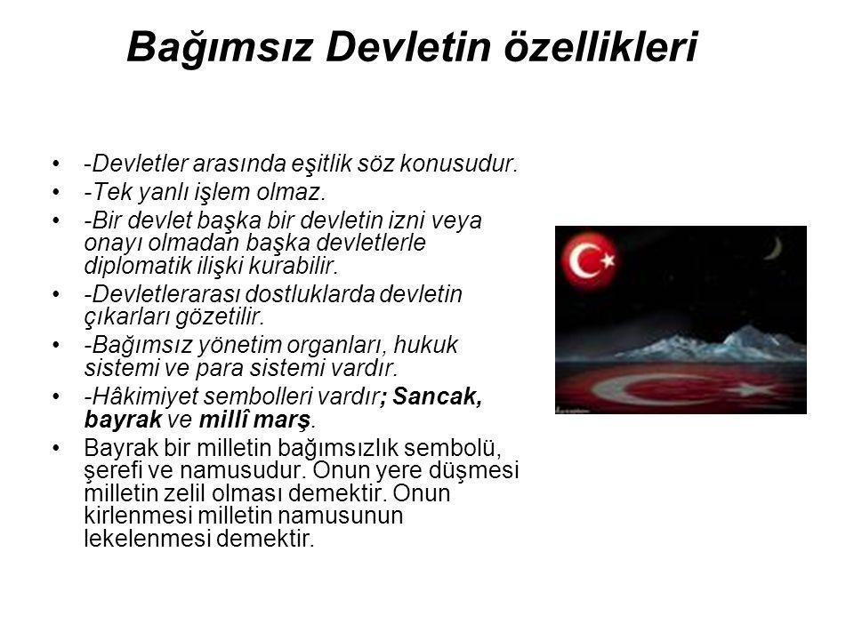 Milli Marşımız İstiklal Marşımız şüphesiz dünyanın en manalı ve en değerli marşıdır.