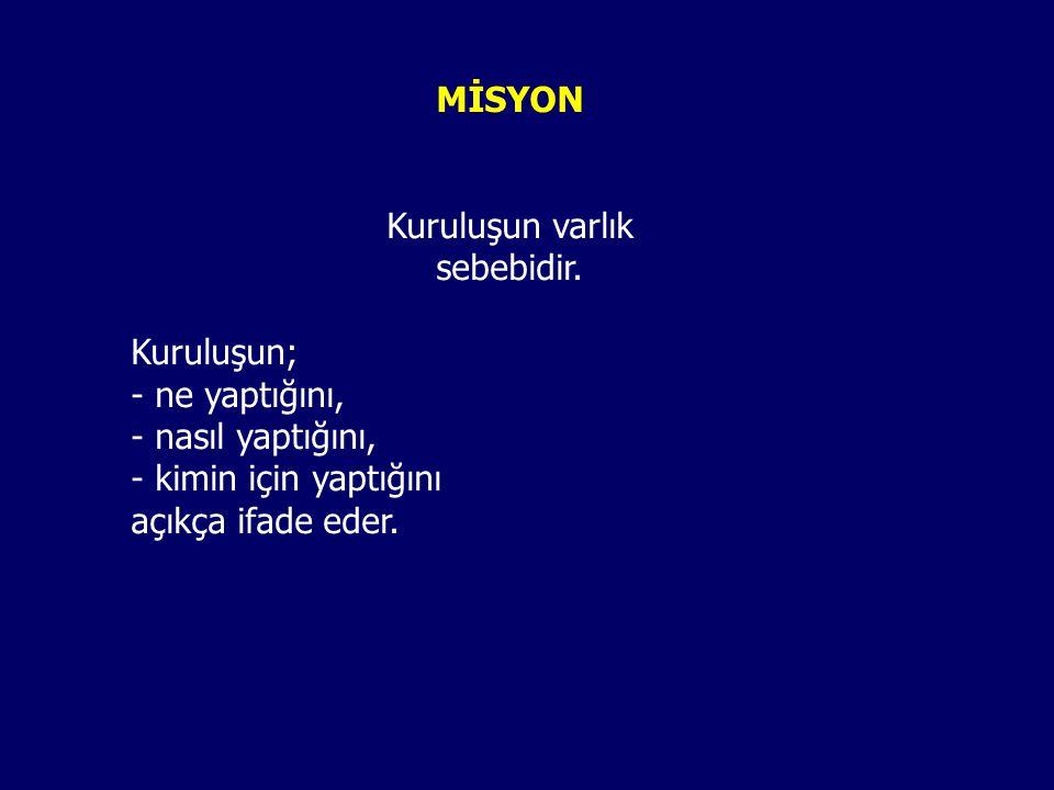 MİSYON NEDİR.
