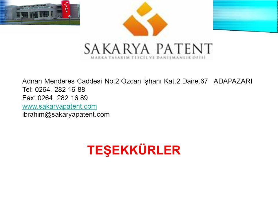 14 Şubat 2006, Konya Sanayi Odası Adnan Menderes Caddesi No:2 Özcan İşhanı Kat:2 Daire:67 ADAPAZARI Tel: 0264. 282 16 88 Fax: 0264. 282 16 89 www.saka