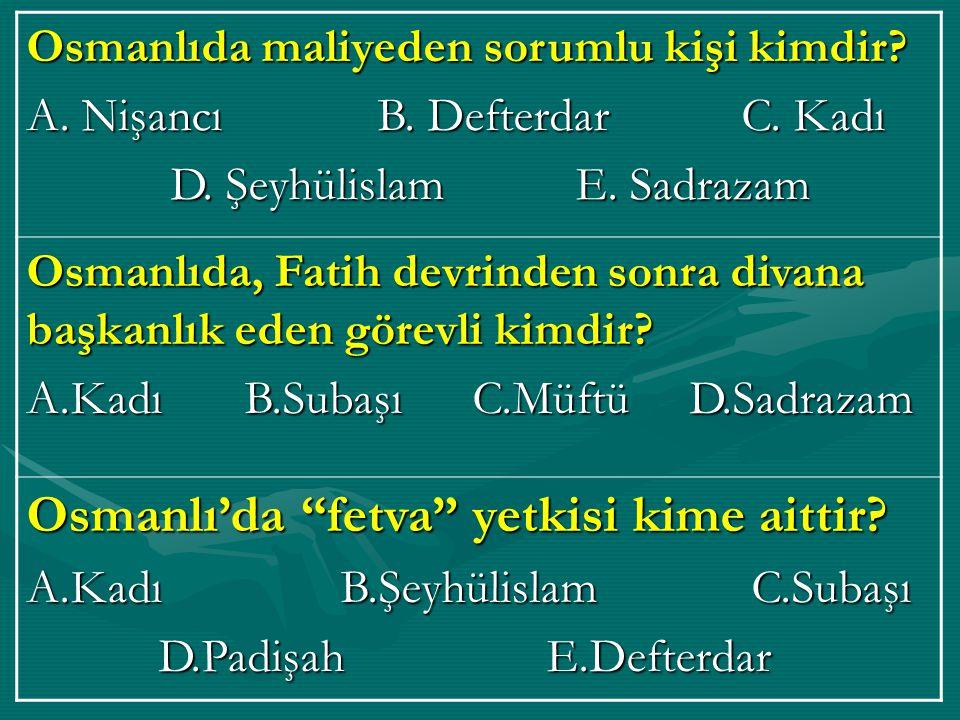 Osmanlı'da, yöneten sınıf ın adı nedir.