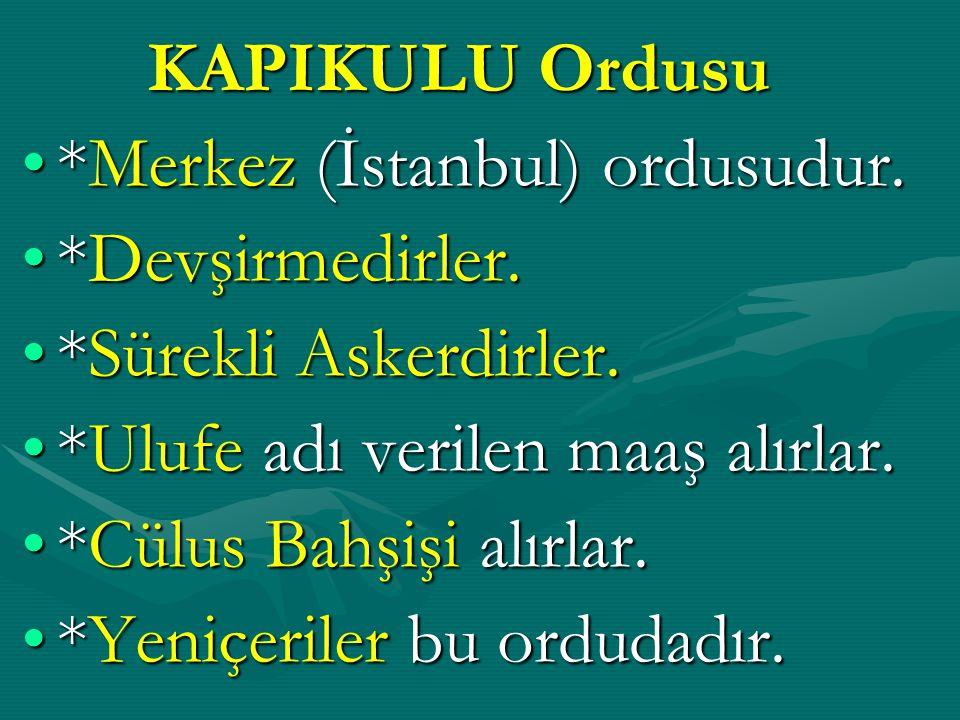 Balkanlardan alınan Hıristiyan çocukların Türk ailelerin yanına verilmesinin sebebi; ONLARA; İslamiyet'i öğretmek,İslamiyet'i öğretmek, Türkçe'yi öğretmek,Türkçe'yi öğretmek, Türk adet ve geleneklerini öğretmek.Türk adet ve geleneklerini öğretmek.