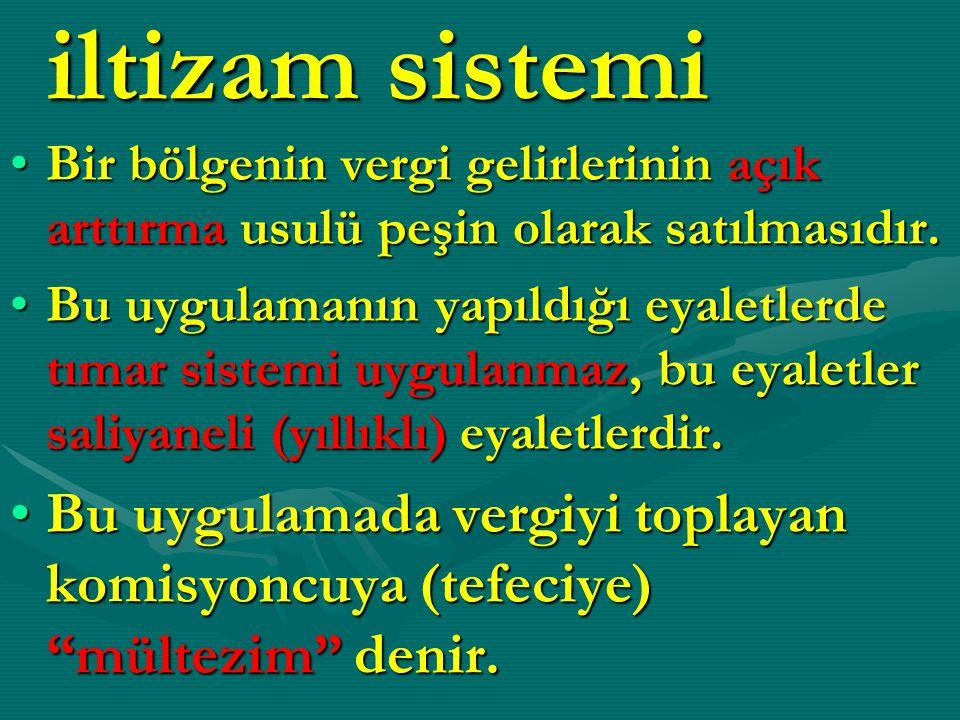 MERKEZ TEŞKİLATI (İSTANBUL) Yeniçeri Ağası (Asayiş İşleri)Yeniçeri Ağası (Asayiş İşleri) Taht Kadısı (Adalet İşleri)Taht Kadısı (Adalet İşleri) Şehremini (Belediye Başkanı)Şehremini (Belediye Başkanı) Muhtesip Ağa (Maliye İşleri)Muhtesip Ağa (Maliye İşleri)