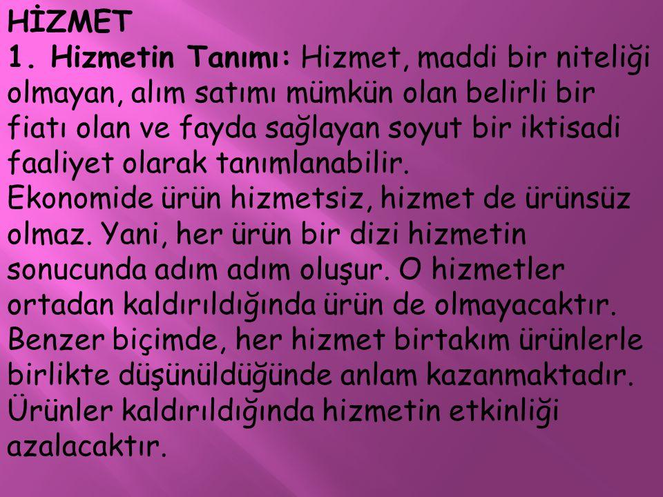 HİZMET 1.