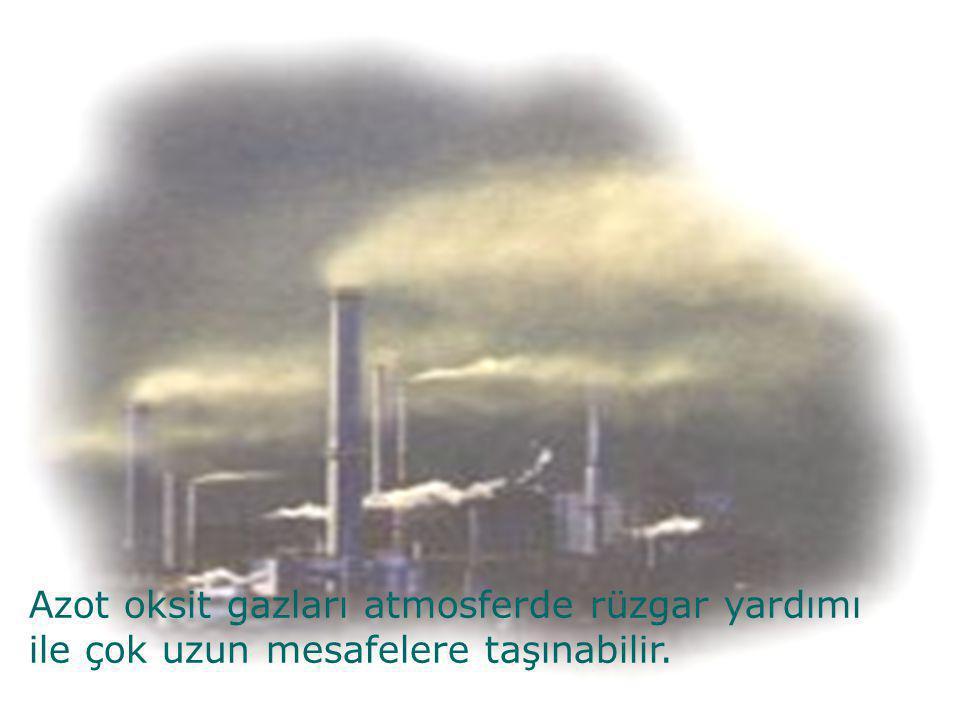 AZOTDİOKSİT ABSORBSİYON YÖNTEMİ(SALZMAN)  Örneklem havası yaklaşık 0.7 l/dak akış hızı ile absorblama çözeltisi içinden geçirilir.