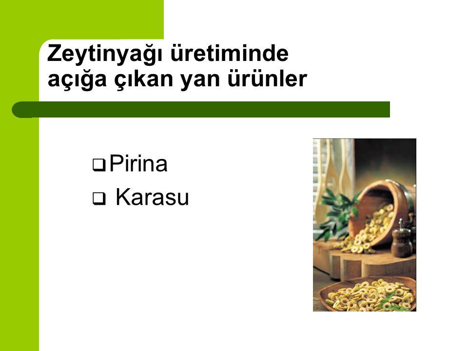 2 Fazlı Sürekli Üretim Yöntemi Zeytin Kırma Öğütme 2 Fazlı Dekantör Zeytin hamuru 1. Yağ 2. Pirina