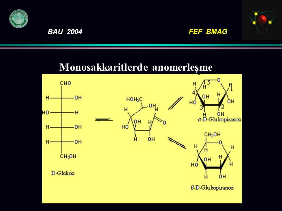Monosakkaritlerde anomerleşme