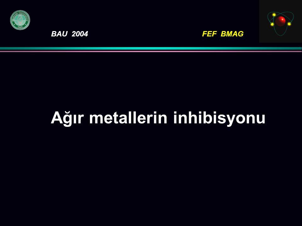 Ağır metallerin inhibisyonu