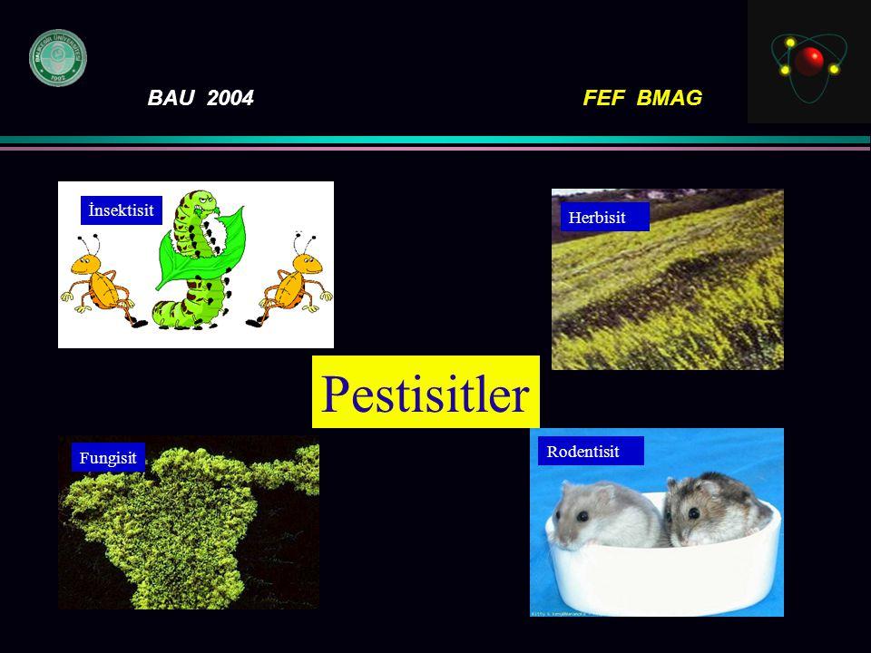 İnsektisit Herbisit Fungisit Rodentisit Pestisitler