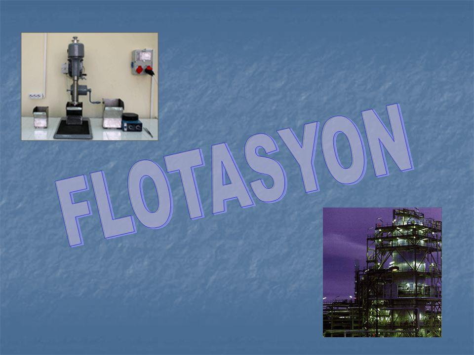 Flotasyonda ilk kademe yüzdürülmek istenen mineralin yüzeyinde su-katı arayüzeyi yerine,katı-hava ara yüzeyi meydana getirmektir.Bu,su fazına uygun kimyasal maddelerin ilavesiyle meydana getirilir.Bu reaktiflerle mineral yüzeyi arasındaki reaksiyon neticesinde mineral yüzeyinde suyu iten(hidrofob)bir tabaka meydana gelir.