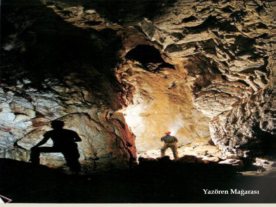   Mağara çökellerinin Oksijen içerikleri, Çökelin oluşum dönemindeki yağışın kökeni ve ortam sıcaklığı hakkında bilgi vermektedir.