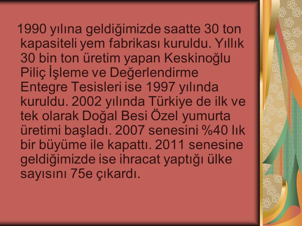 KURUCU Keskinoğlu şirketi İsmail Keskinoğlu ve oğulları Fevzi ile Mehmet tarafından 1963 yılında kurulmuştur.