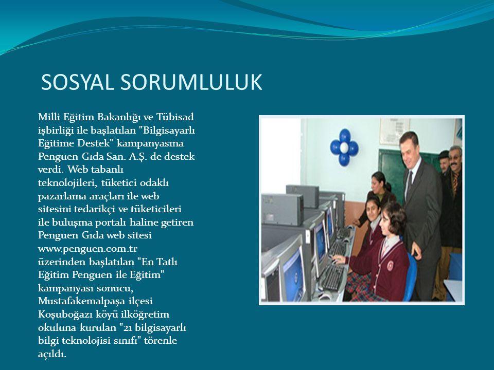 SOSYAL SORUMLULUK Milli Eğitim Bakanlığı ve Tübisad işbirliği ile başlatılan
